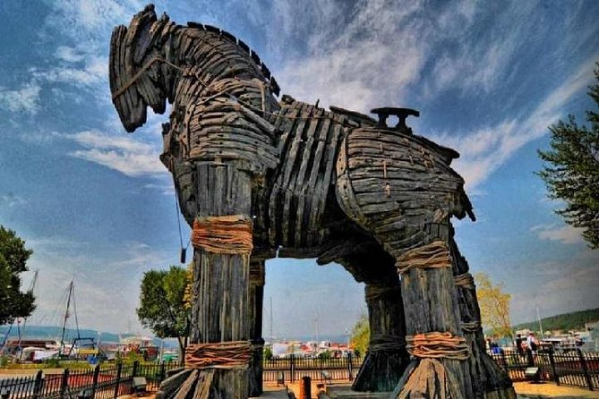 Tour diario de Troya desde Estambul