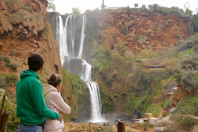 day trip to Ouzoud waterfalls including hiking tour from marrakech