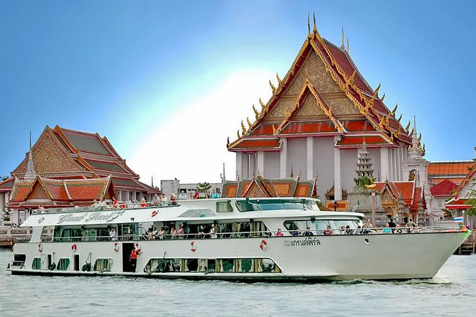 Ayutthaya by Grand Pearl River Cruise from Bangkok with Lunch on Board