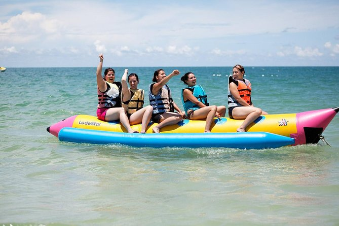 Pattaya Coral Islands Half-day Trip stopover for Parasailing,Fishing&Banana Boat