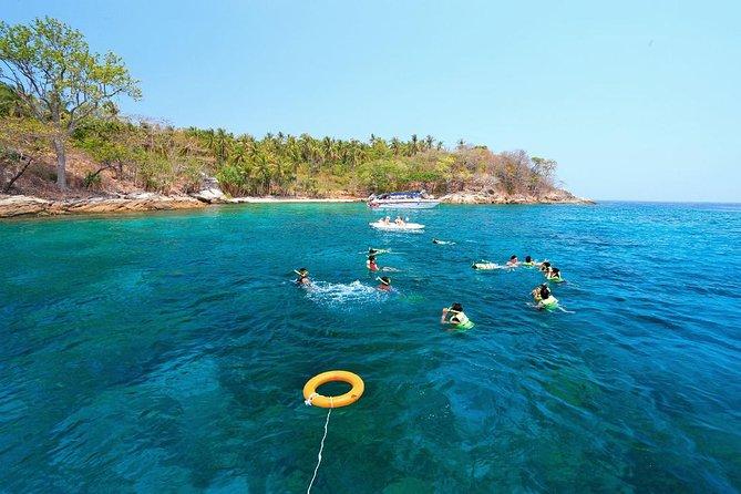 Raya Island Tour by Speed Boat From Phuket