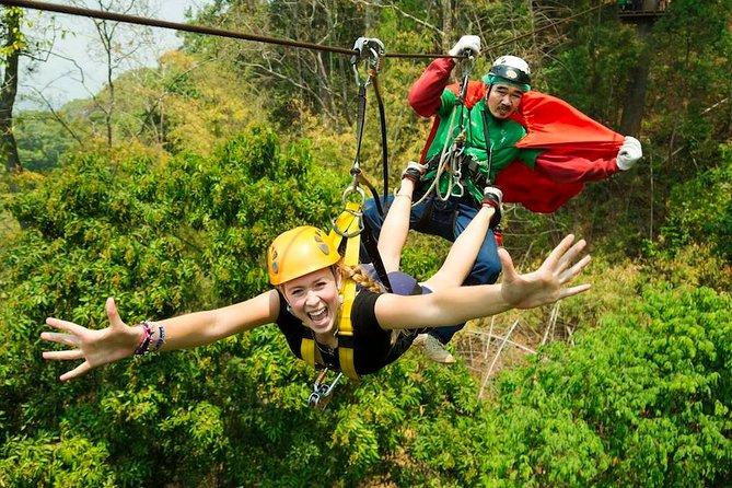 Zipline Adventure at Chiang Mai with Return Transfer