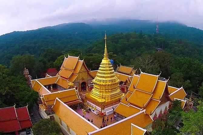 Half Day Tour : Wat Doi Suthep & Phu Ping Palace from Chiang Mai