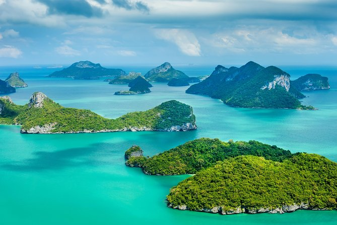 Angthong Marine Park by Boat