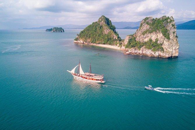 Um Samui Island mit dem Boot