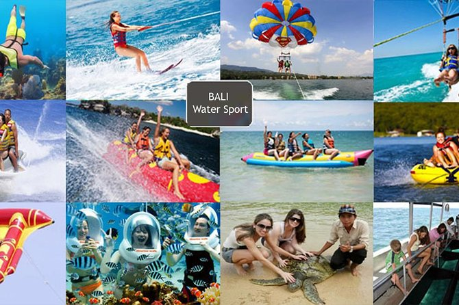 The Best Water Sport Water Blow-Parasailing Adventure-Sea Walker-Uluwatu Temple