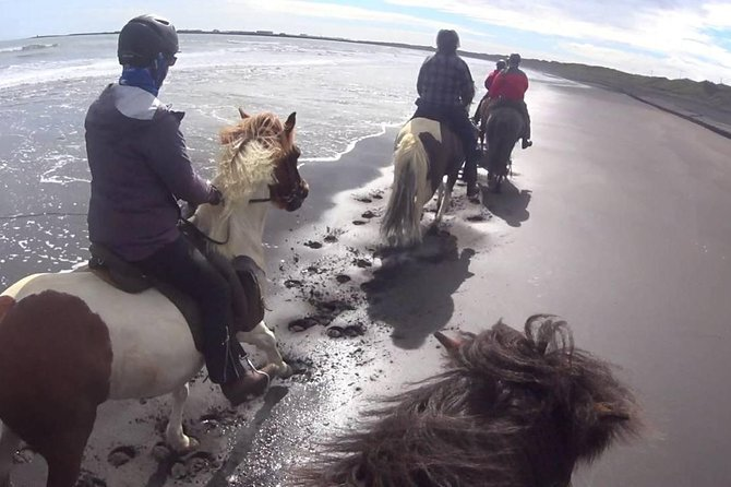 Private Tour Horse Riding 60 Minutes At Black Sand Beach-Tukad Cepung Waterfall