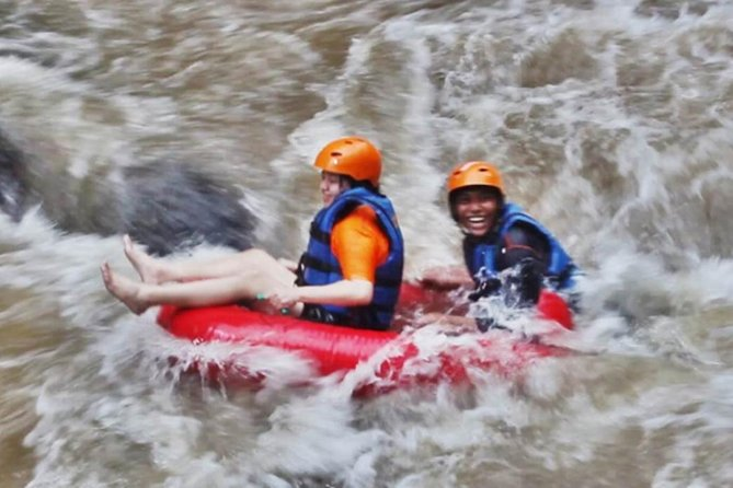 Private Full Day Trip-Enjoy Ayung River Tubing-Lunch-Yeh Pulu Temple-Agrotourism