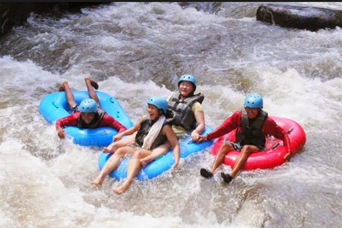 Adventurous Tubing Voyage in Ayung River and Kanto Lampo Best Waterfall