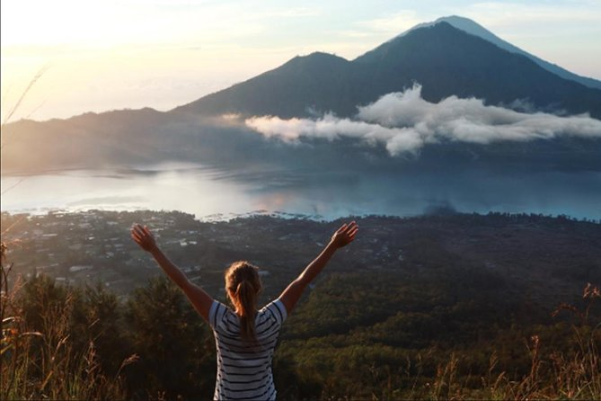 Private Full Day Trip-Batur volcano hiking sunrise-Agrotourism-Rice terrace