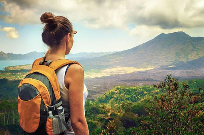 Private Tour Unforgettable Batur Volcano Hiking and Yeh Pulu Temple
