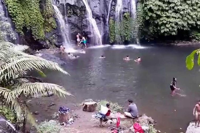 Private Full Day Trip Enjoy The Bayumala, Bali's Beautiful Waterfall! & Lunch