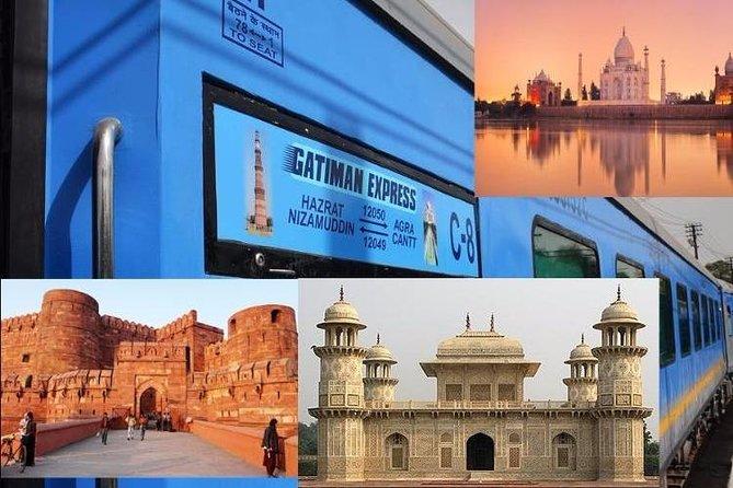Agra Same day by Gatiman Express