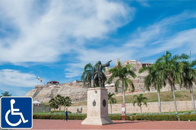 sightseeing tour of Cartagena: designed for people with restricted mobility