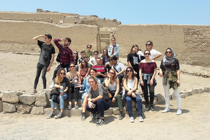 Ruins of Pachacamac from Crucero
