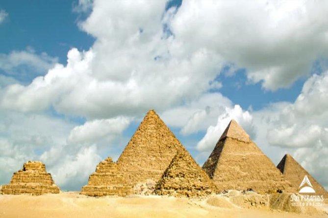 Day Tour to Giza Pyramids, Memphis and Sakkara in Egypt