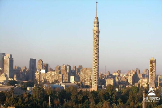 El-Moez Street and Cairo tower with Dinner