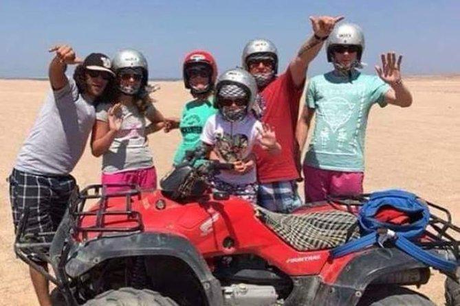 3 hour Quad Safari in the Desert of Hurghada