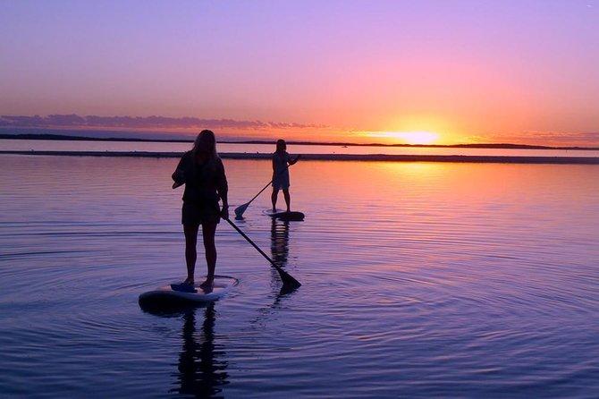 Surfing under Midnight Sun (SUP)