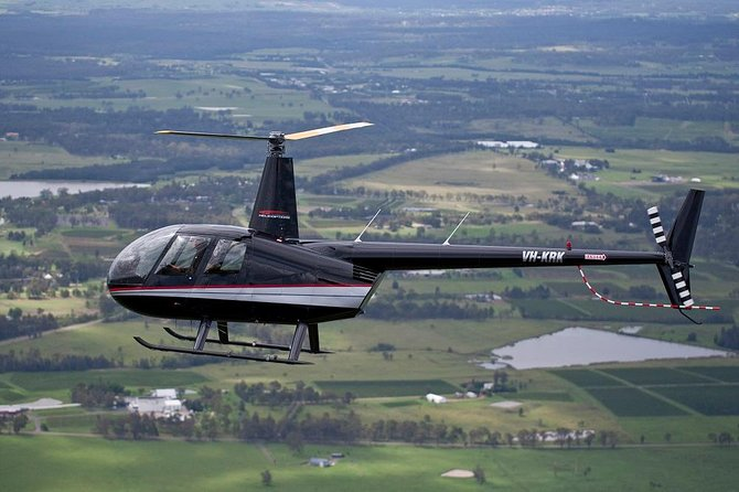 One of our Robinson R44s