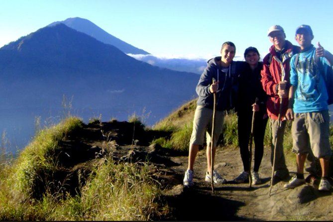 Challenging Batur volcano Hiking Tour and Exsplore Gunung Kawi Temple