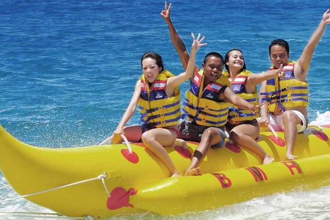 Water Sport Private Tour-Water Blow-Parasailing-Banana Boat-Uluwatu Temple