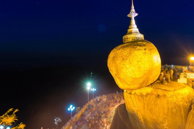 Private Day Tour to Golden Rock From Yangon