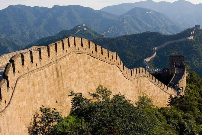 Badaling Great Wall and Royal Mausoleum Coach Tour