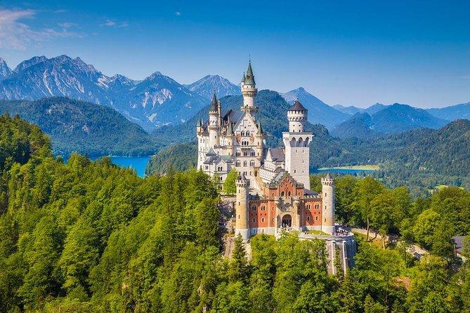 Excursão privada ao castelo de Neuschwanstein e Linderhof saindo de Munique