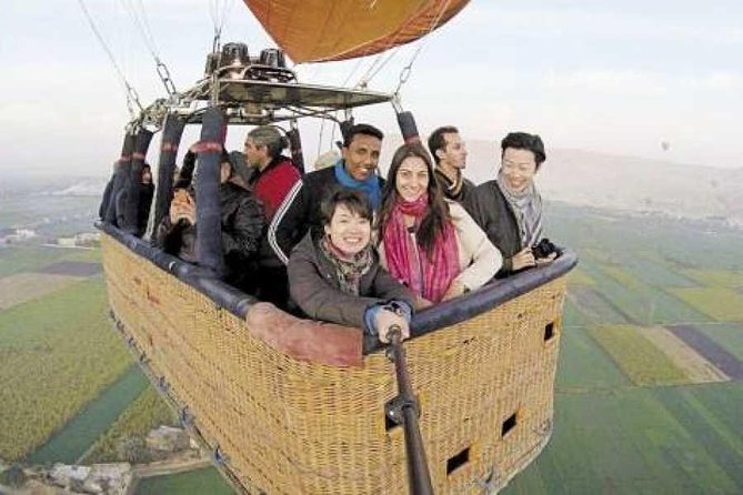 Hot Air Balloon, Kings Valley, Sailing Felucca,City tour & Camel Ride
