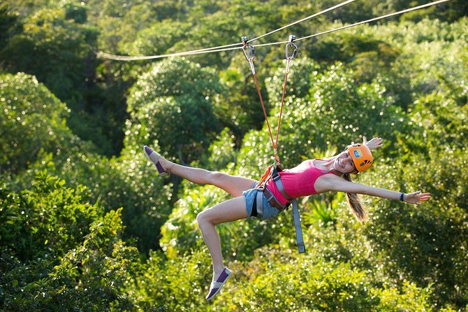 Playa del Carmen Cenote Tour: Snorkeling, Rappelling and Ziplining