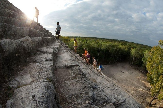 Maya Adventure from Playa del Carmen: Coba Ruins, Traditional Village and Cenote Swim