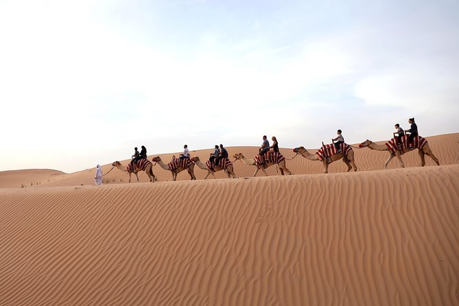 Sunrise Camel Trekking with Breakfast at VIP Camp