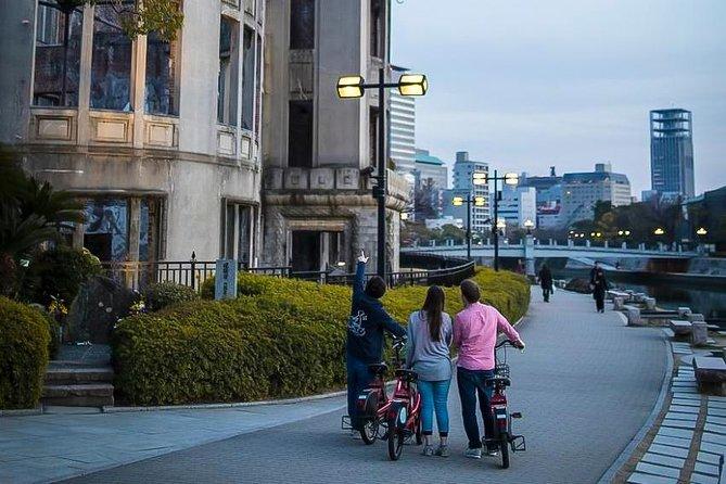 Den Native Cross-Cultural Exchange med lokalbefolkningen: Hiroshima Night Cycling