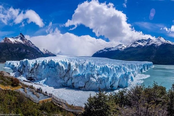 Ônibus de ida e volta para o Glaciar Perito Moreno saindo de El Calafate