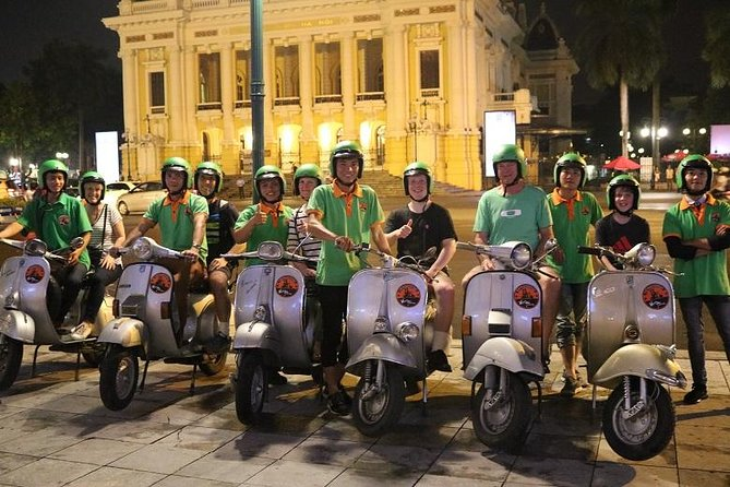 Hanoi Vespa After Dark vespa food tour
