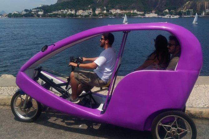 Electric Bike Tuk Tour in Rio de Janeiro most famous Urban Park