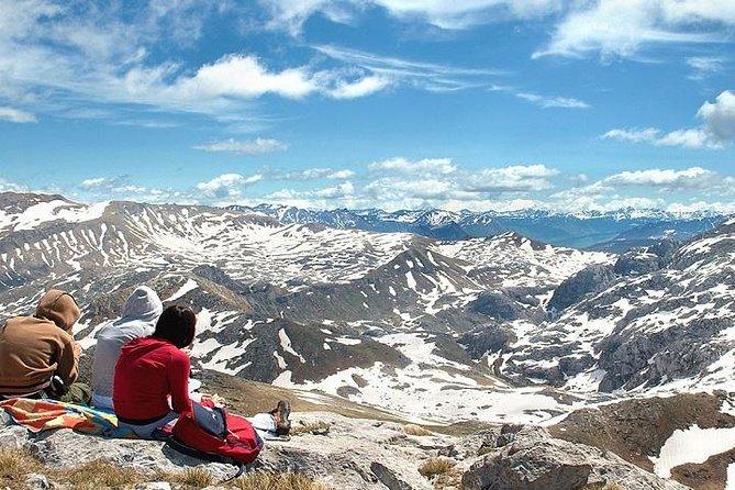 Medio día panorámico en los Andes
