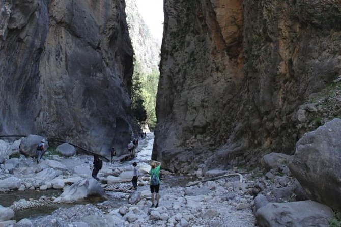 Samaria Gorge Trek: Full-Day Excursion from Rethymno