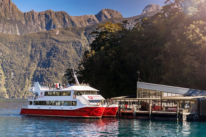 Milford Sound Coach, Cruise and Underwater Observatory with Picnic Lunch