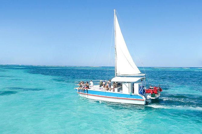 Families with kids Small-Group Catamaran Snorkel with Seafood Lunch