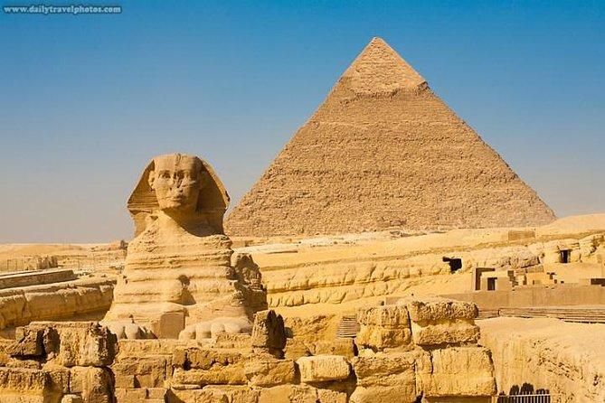 Private pyramids of Giza day tour
