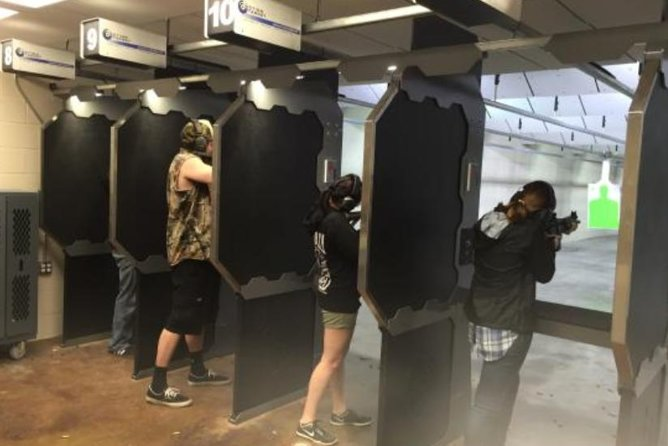 New Orleans Full Auto MP5 Shooting Tour