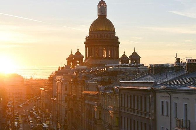 Visa-Free Shopping Tour of St Petersburg with Free Time