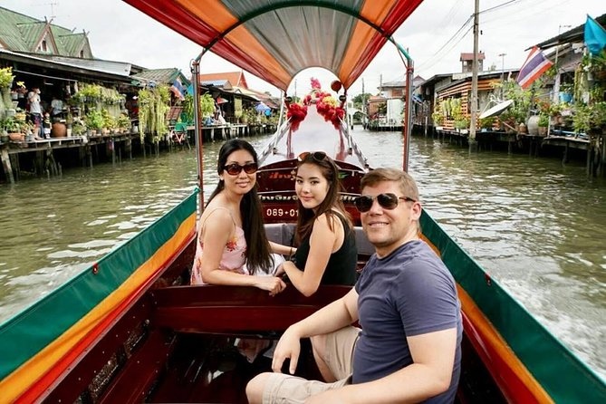 Bangkok Temple and Canal Tour by Long tail boat