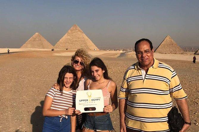 Day Tour: Giza Pyramids, Sphinx, Memphis, Sakkara
