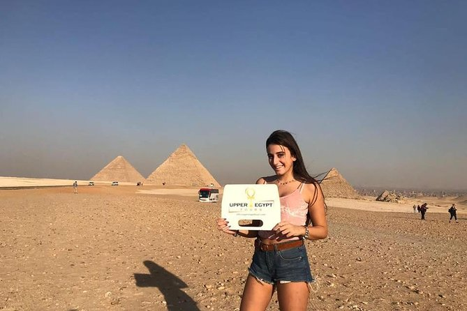 Private Tour Giza Pyramids, Sphinx, Egyptian Museum and Bazaar from Cairo