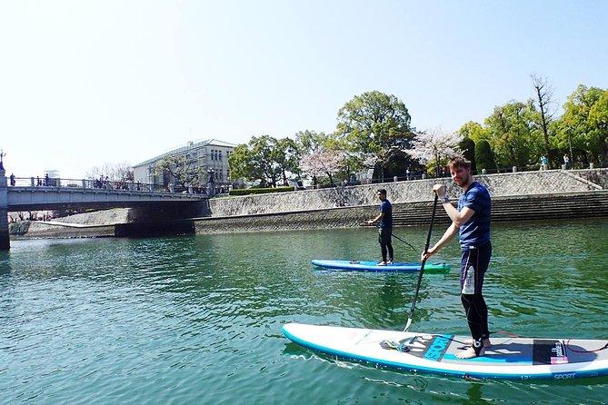 Explore around The City of Water Hiroshima via SUP : Exclusive Tour