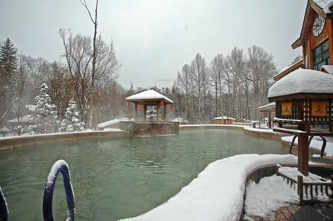 Private Day Trip to Yingjie Hot Spring in Bin County from Harbin