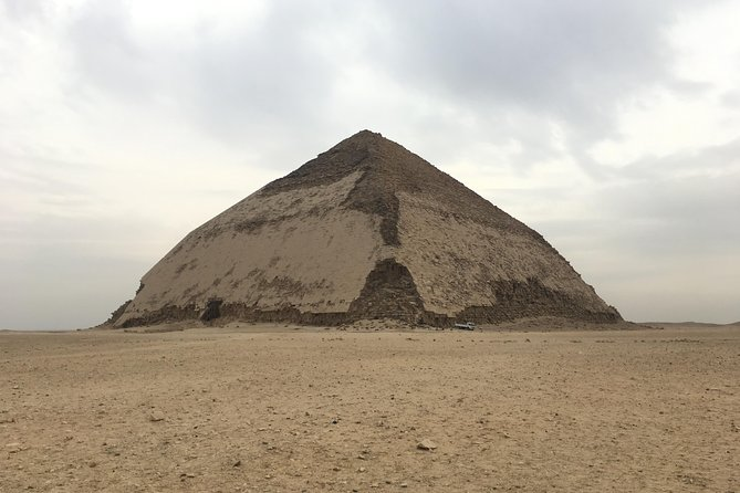Full day tour to Giza Pyramids, Sakkara & Dahshur with private guide photo 1